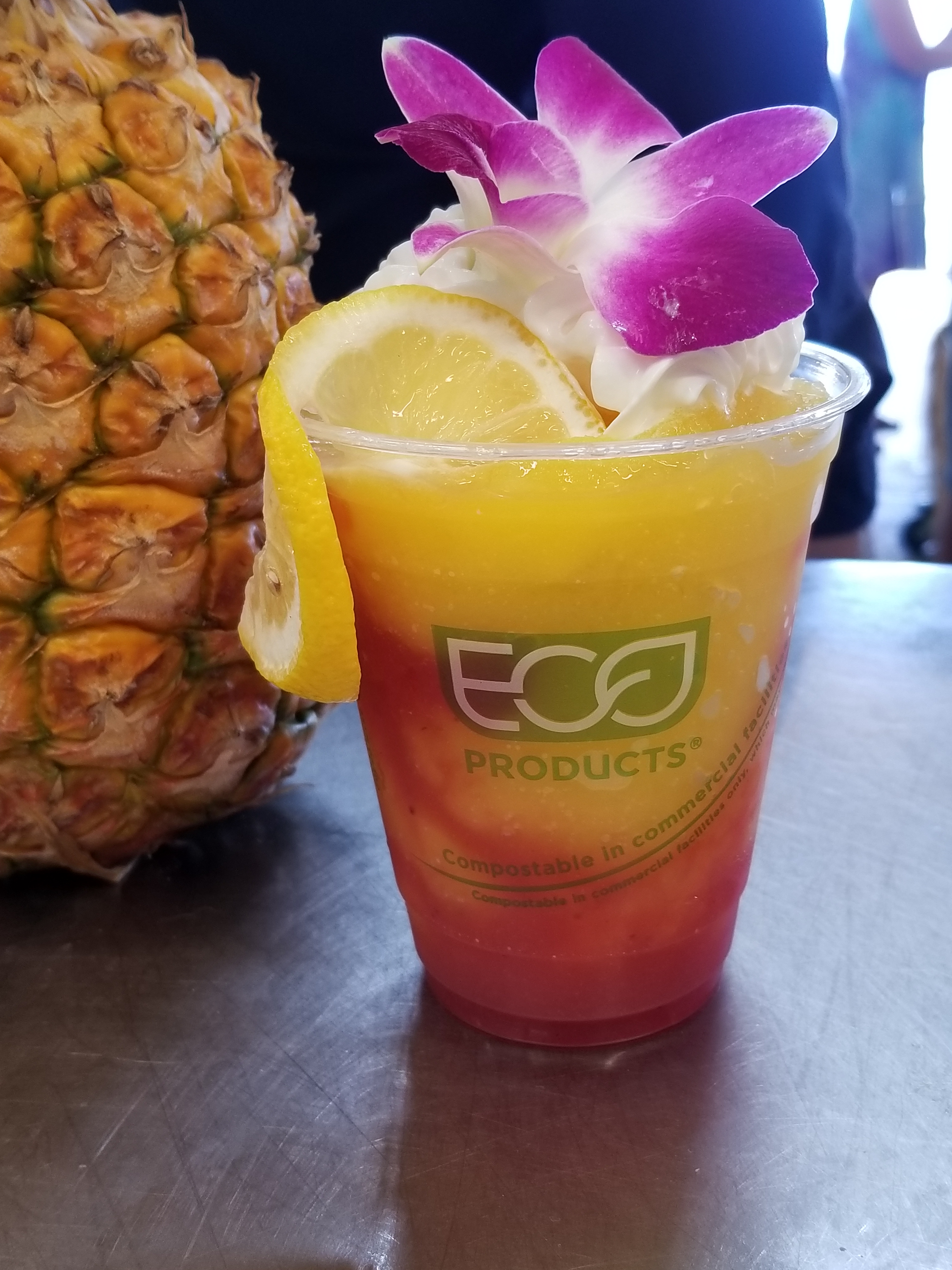 Make sure you try our DELICIOUS Whole North Shore Pineapple Smoothie