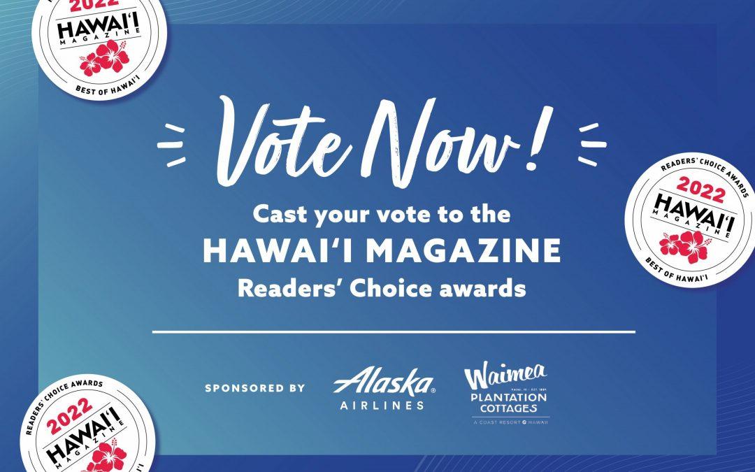 Help Barefoot Beach Cafe win Hawaii Magazine's 2022 Reader's Choice Awards!