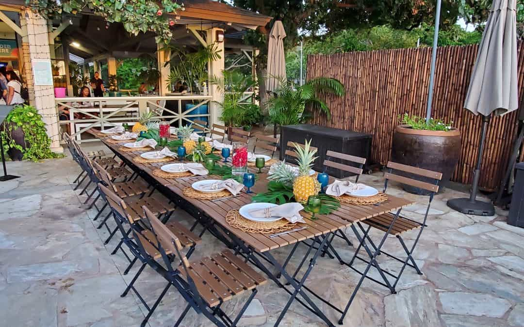 Barefoot Beach Cafe is Still Available for Private Events!